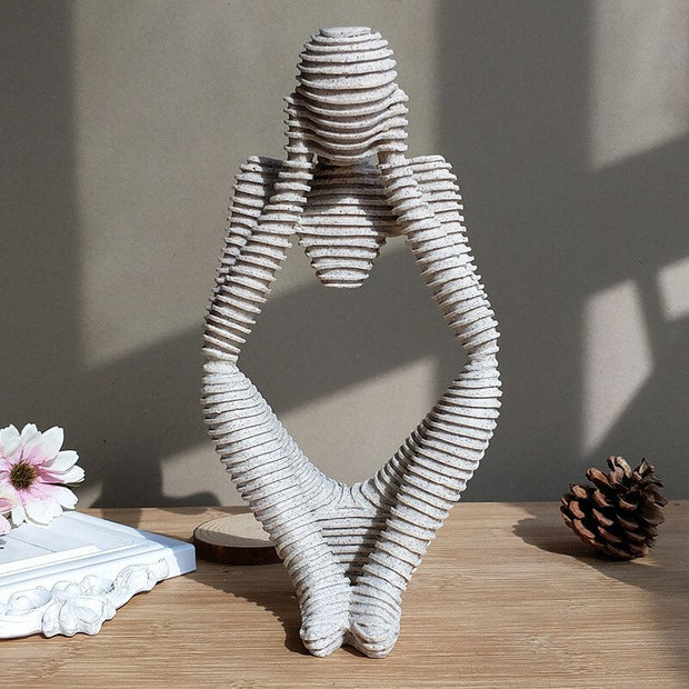 Abstract Character Statue