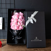 Rose-Shaped Soap Gift Box