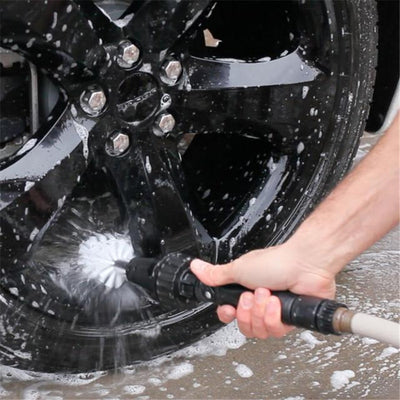 360 Rotating Water Jet Brush