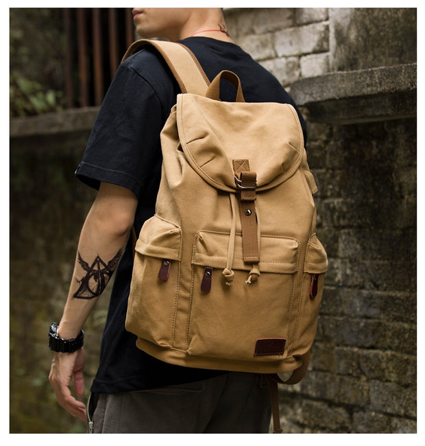 TANGHAO Canvas Backpack