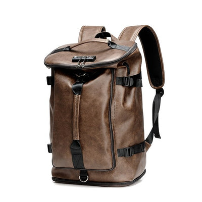 Multifunction Men's Leather Bag