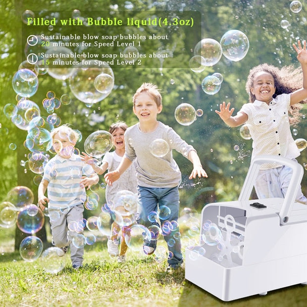 Automatic Bubble Machine
