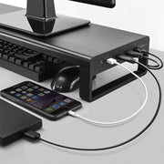 Desktop Computer Monitor Stand With USB 3.0 Hub