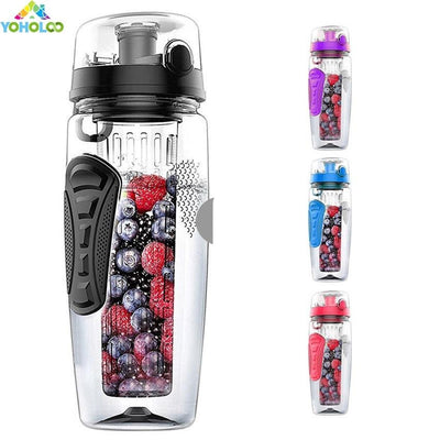 32 Oz. Fruit Infuser Water Bottle