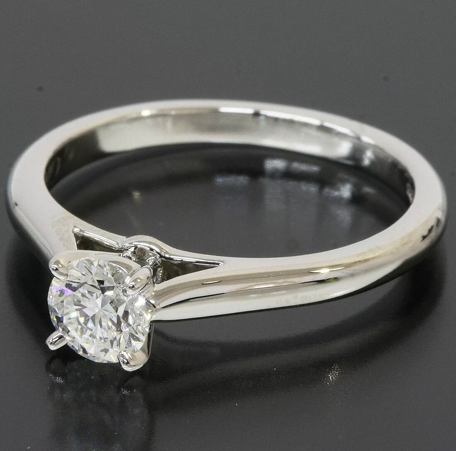 Cartier Platinum 950 Solitaire 1895 0.30CT