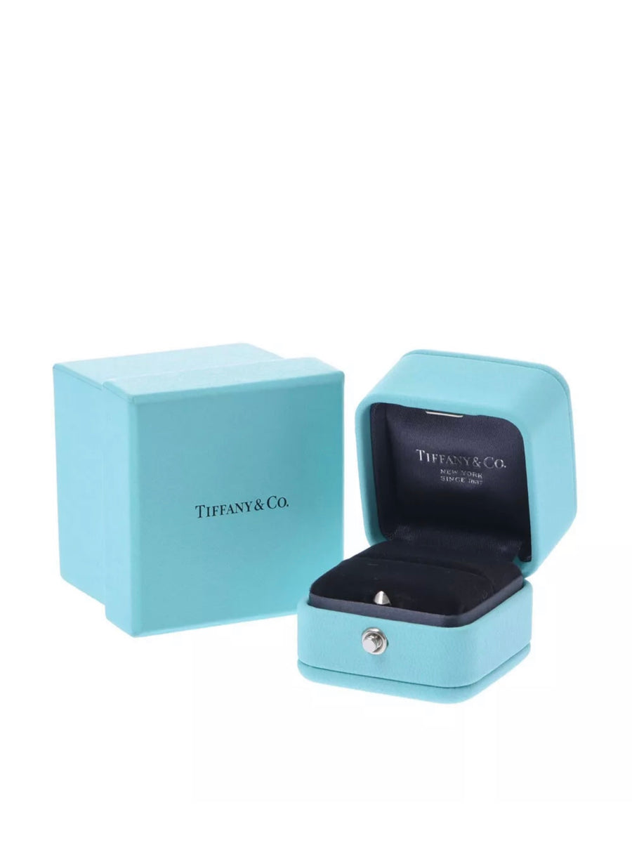 Tiffany&Co Platinum 950 Tiffany Setting Solitaire 0.33CT