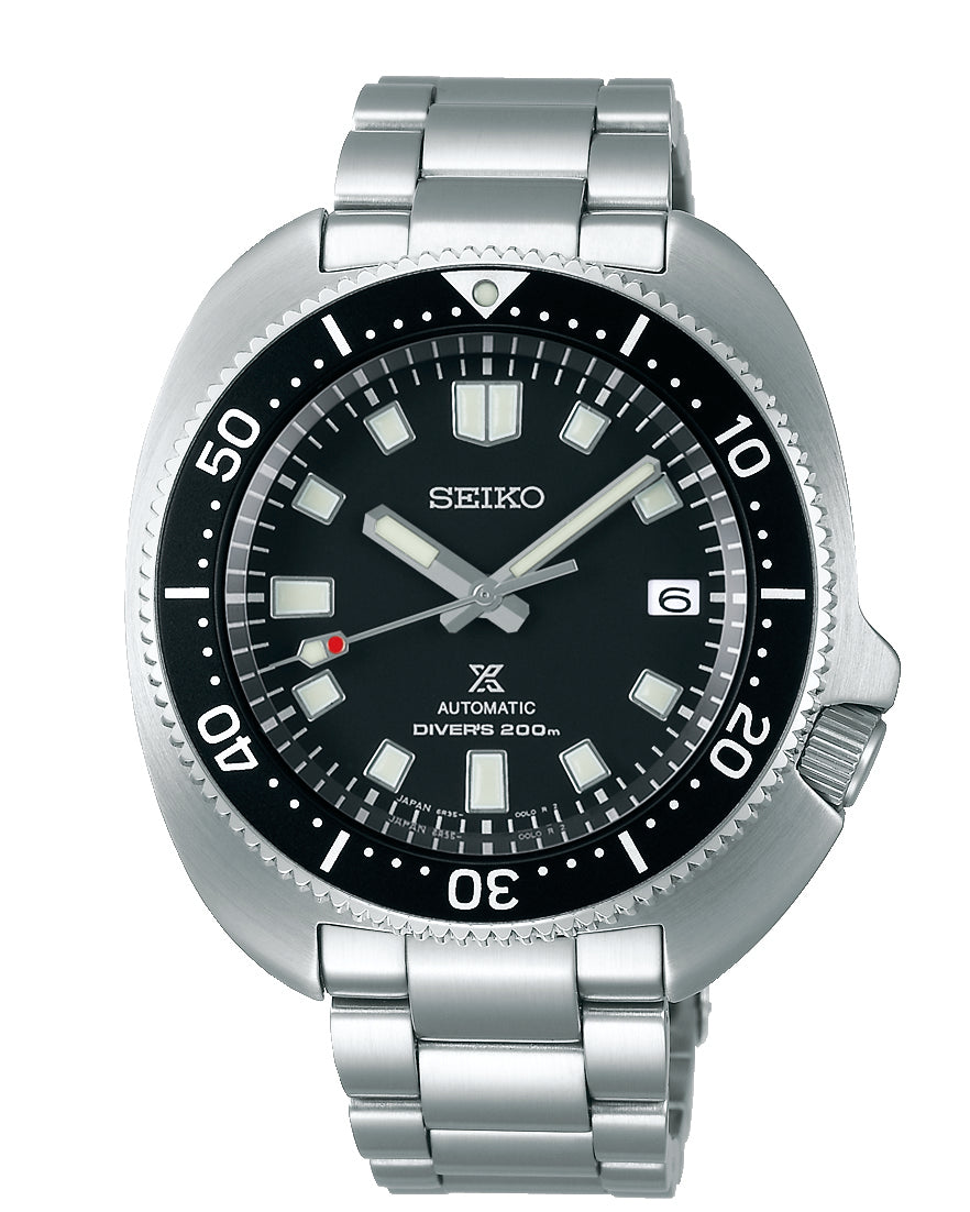 Seiko Prospex 'Captain Willard' Black Dial