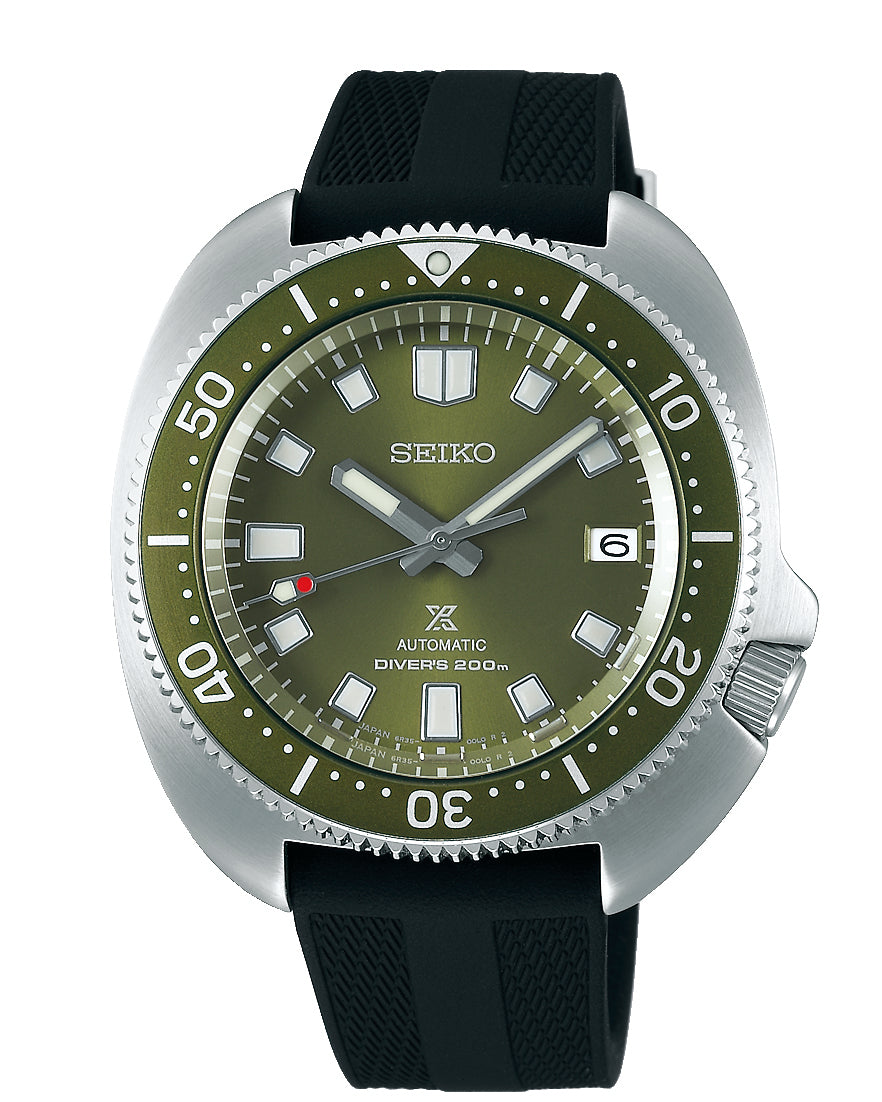 Seiko Prospex 'Captain Willard' Green Dial