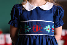 Load image into Gallery viewer, Bell and Holly Embroidered Dress
