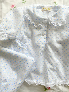 Swiss dot pyjama or nightie set