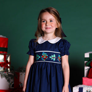 Bell and Holly Embroidered Dress