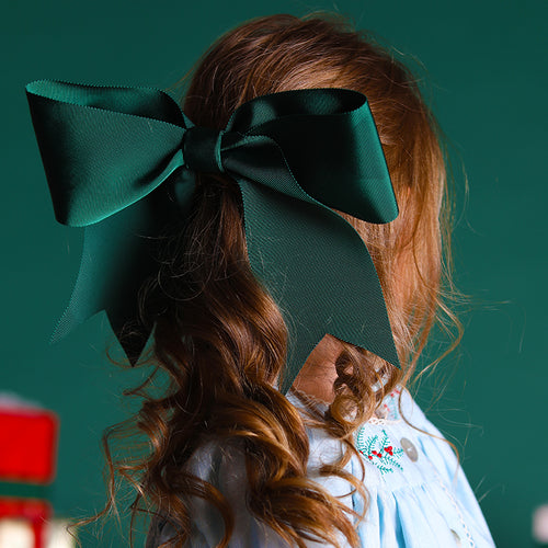 Winter Hair Bow