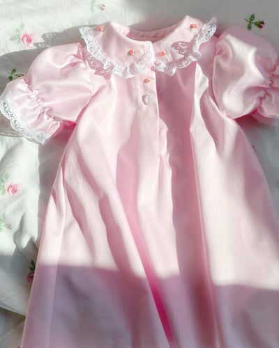Ballet Pink Sateen nightie