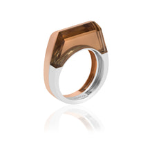 Load image into Gallery viewer, Dois Irmãos Ring with Cognac Quartz