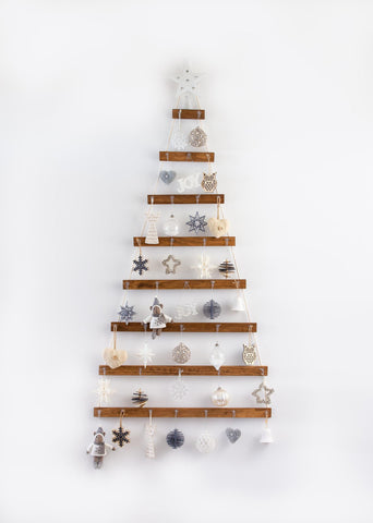 Hanging Wall Christmas Tree from Etsy