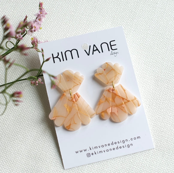Earrings Peachy Penelope