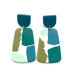 Anne earrings colorblock