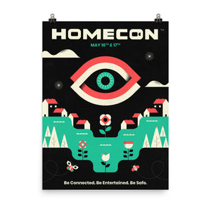 "HomeCon 02 Commemorative Poster - 18""x24"""