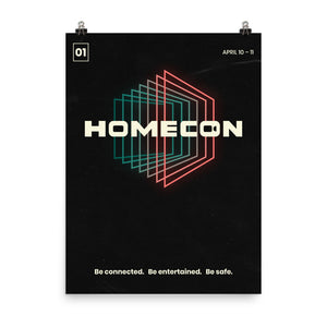 "HomeCon 01 Commemorative Poster - 18""x24"""