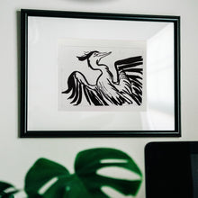 Load image into Gallery viewer, Blue Heron giclée print