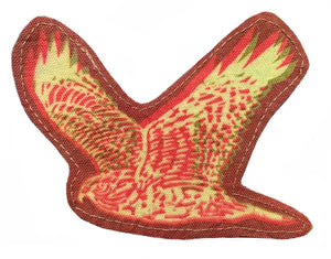 Red and Green Hawk Sun Patch