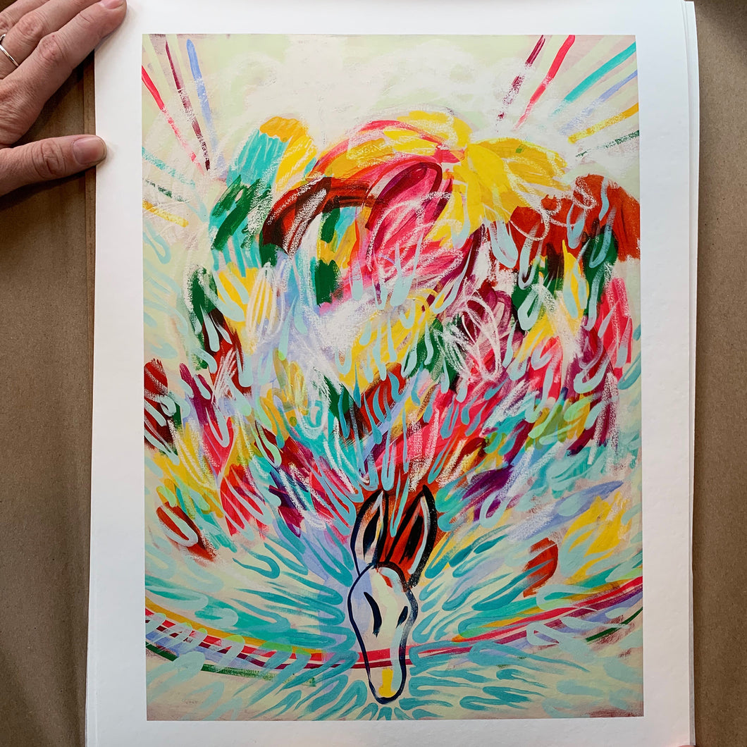 The Ghost giclée print