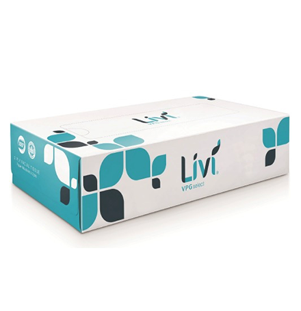 Livi Tissues Rectangular (30 Units) (Case)