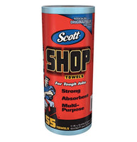 Scott Shop Towels Blue (1 Roll, 55 Sheets)