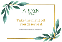 Load image into Gallery viewer, Gift ARDYN at Home - Spring Menu - Restaurant Quality Meal Kit Delivery - ARDYN at Home