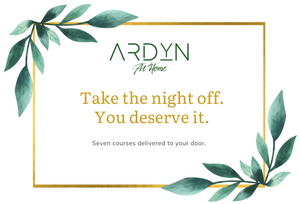 Gift ARDYN at Home - Spring Menu - Restaurant Quality Meal Kit Delivery - ARDYN at Home