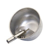 Medium Round Stainless Steel Waterer