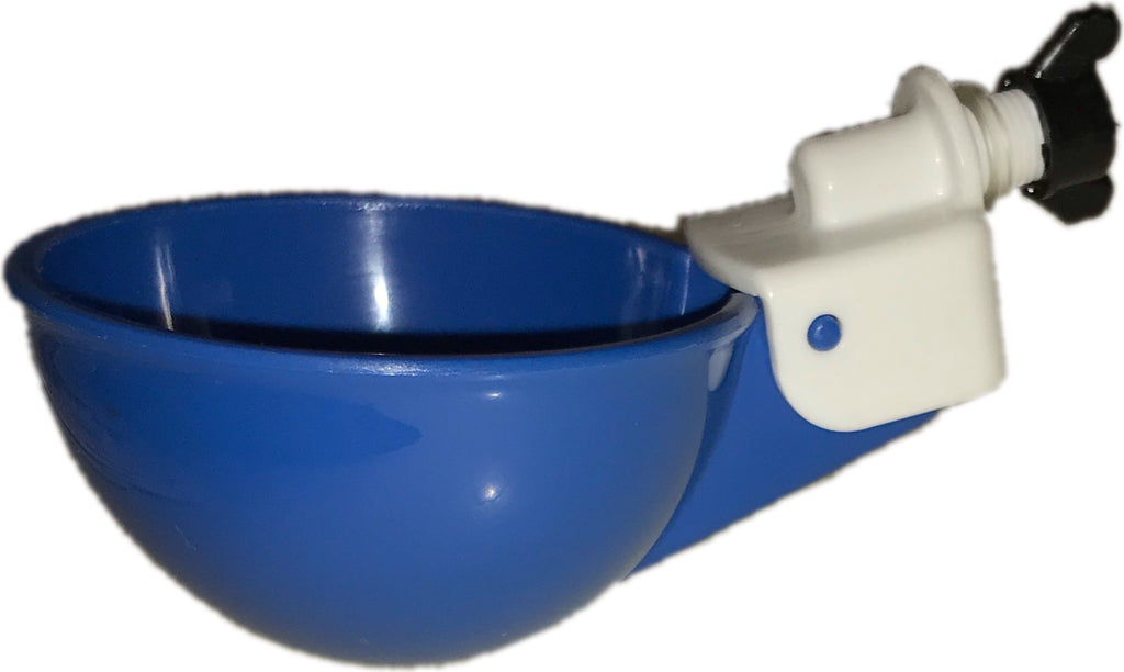 Blue Auto Fill Chicken Watering Cups