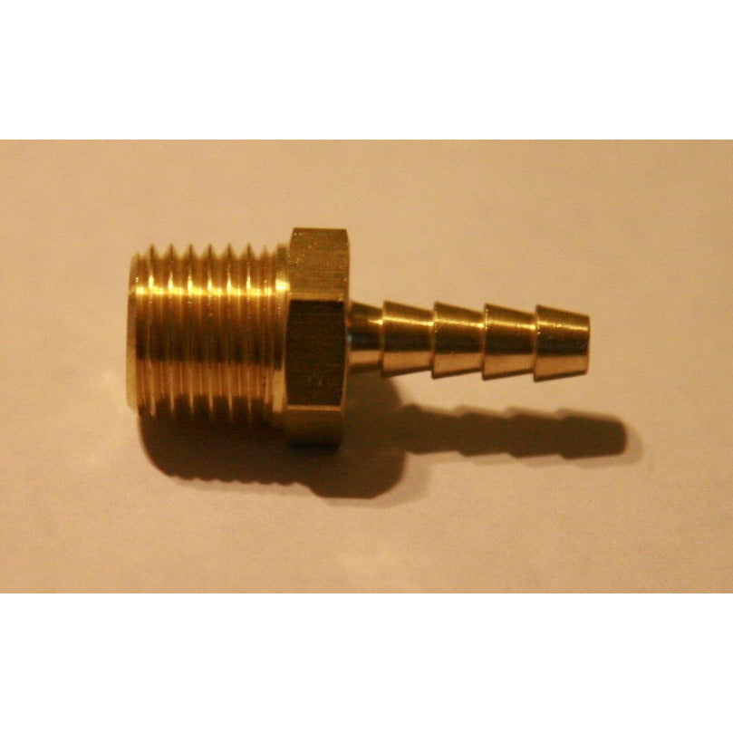 "3/16"" Brass Barb for Bucket installation"