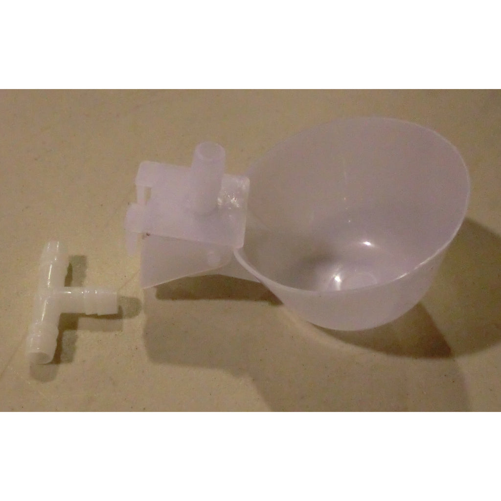 "Chicken Watering Cup with 5/16"" Barb"