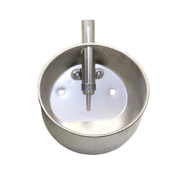 Large Round Stainless Steel Waterer