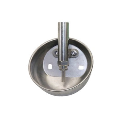 Small Round Stainless Steel Waterer