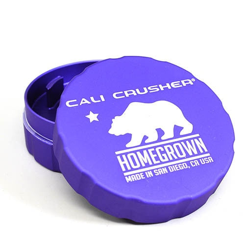 Cali Crusher Homegrown 2 Piece Hard Top Grinder