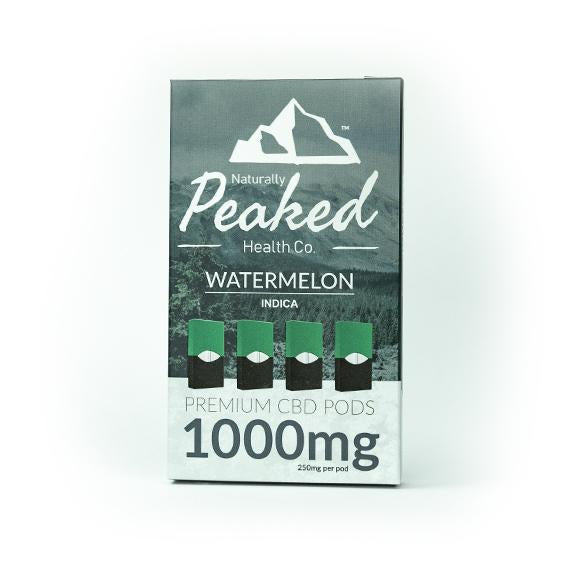 Naturally Peaked - 1000MG CBD Vape Pods