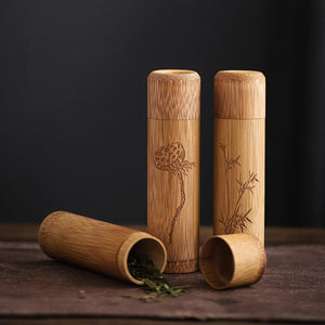 Bamboo Tea Caddies