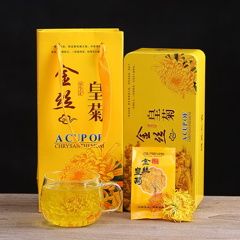 Golden Silk Chrysanthemum Tea