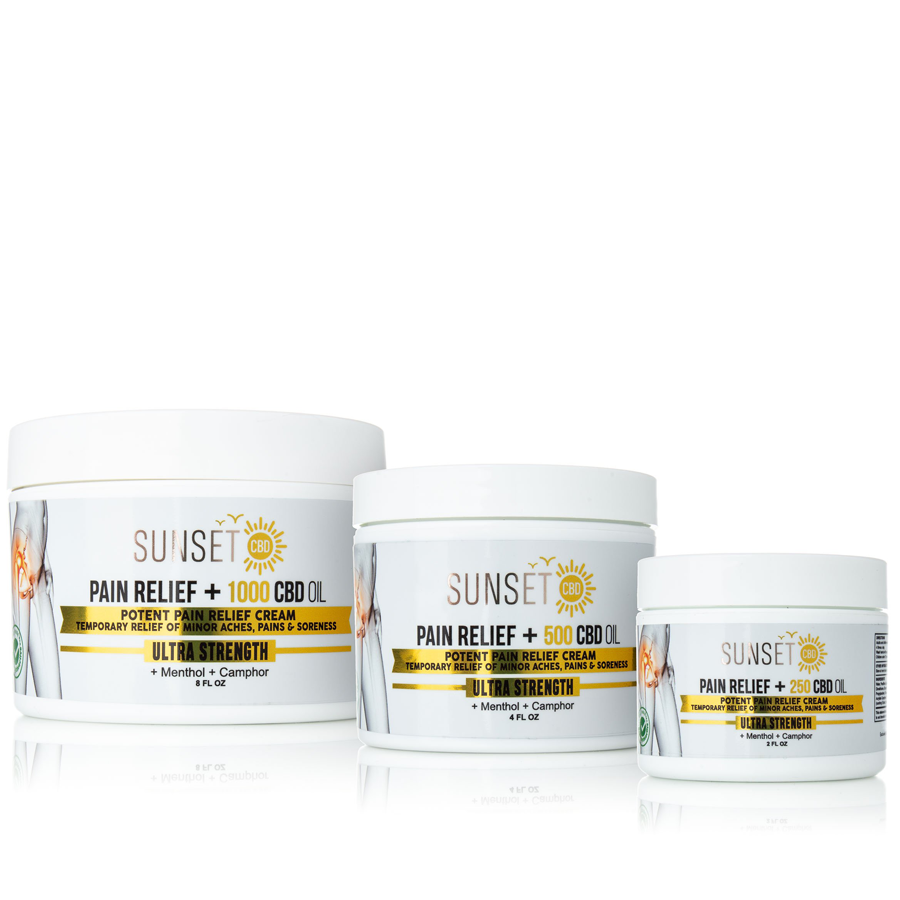 Sunset CBD Creams