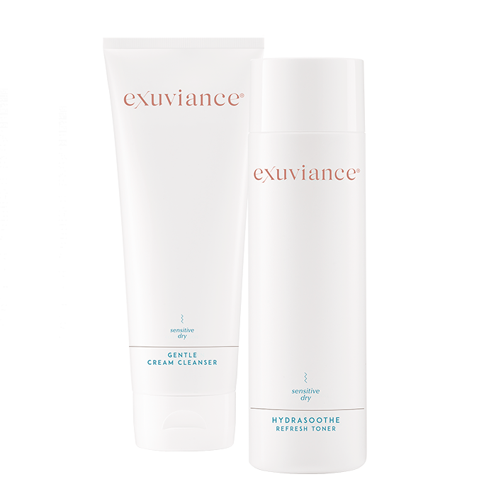 Gentle Cream Cleanser & HydraSoothe Refresh Toner