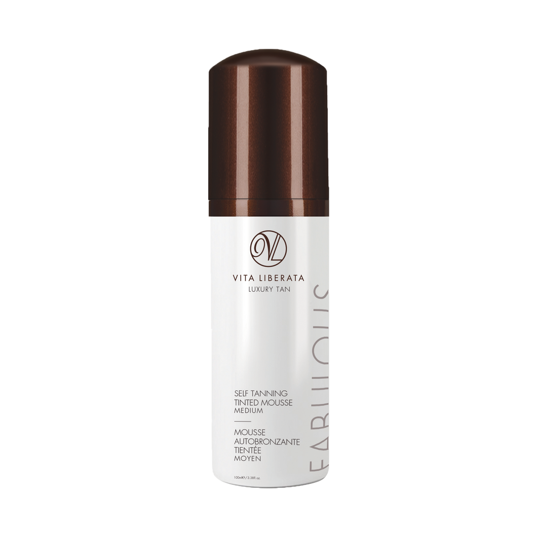 Self Tanning Tinted Mousse Medium 100 ml