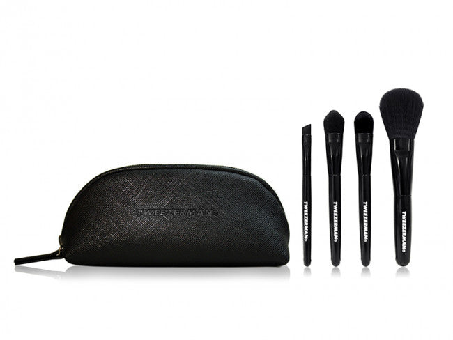 Tweezerman Mini Travel Brush Set
