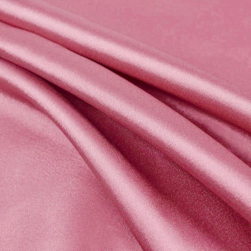 Payton CANDY PINK Faux Silk Stretch Charmeuse Satin Fabric by the Yard