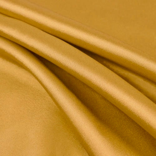 Payton GOLD-B Faux Silk Stretch Charmeuse Satin Fabric by the Yard