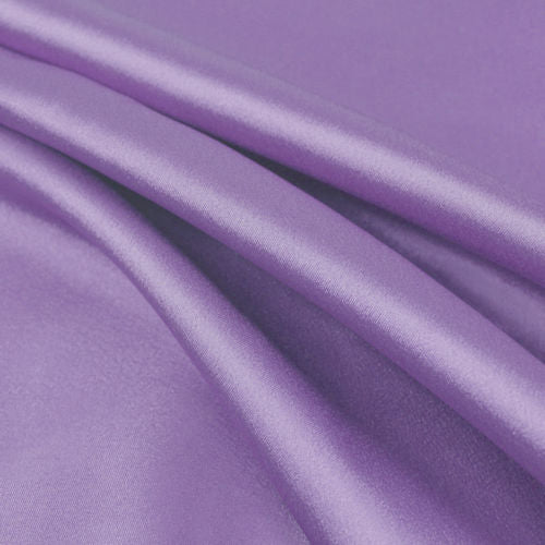 Payton LAVENDER Faux Silk Stretch Charmeuse Satin Fabric by the Yard