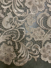 Maggie CHAMPAGNE Guipure Venice Heavy Lace Fabric by the Yard