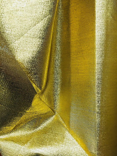Kenzie GOLD Light Weight Lamé Fabric by the Yard  - 10059