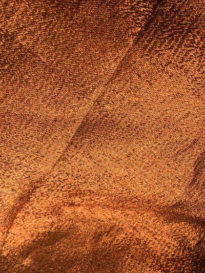 Kenzie COPPER Light Weight Lamé Fabric by the Yard  - 10059